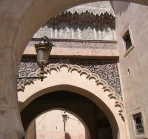 Tradicional-arquitetura-de-Marrakech